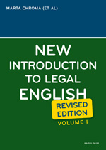 New Introduction to Legal English I. Revised Edition